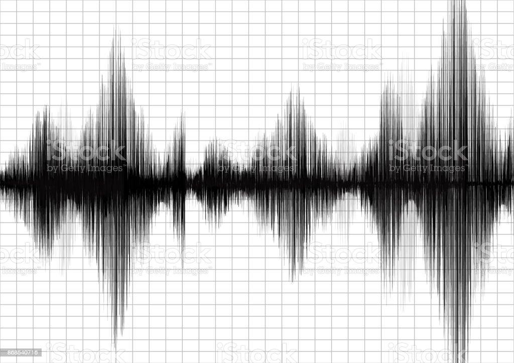Klassische Erdbeben Diagramm Diagramm Ein Seismograph Verschiedene ...