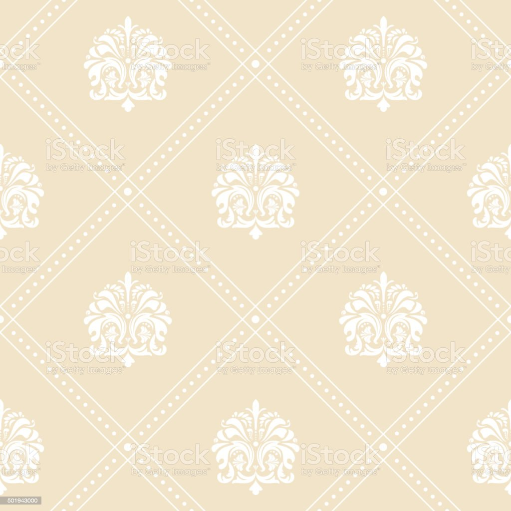 Classic Floral Wallpaper Stock Illustration Download Image Now