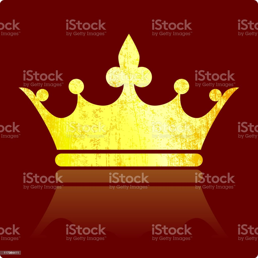 Classic French Imperial crown on royalty free vector Background royalty-free classic french imperial crown on royalty free vector background stock vector art & more images of authority