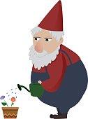 Classic gardening gnome