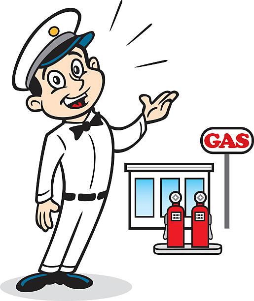 Best Vintage Gas Pump Illustrations, Royalty-Free Vector