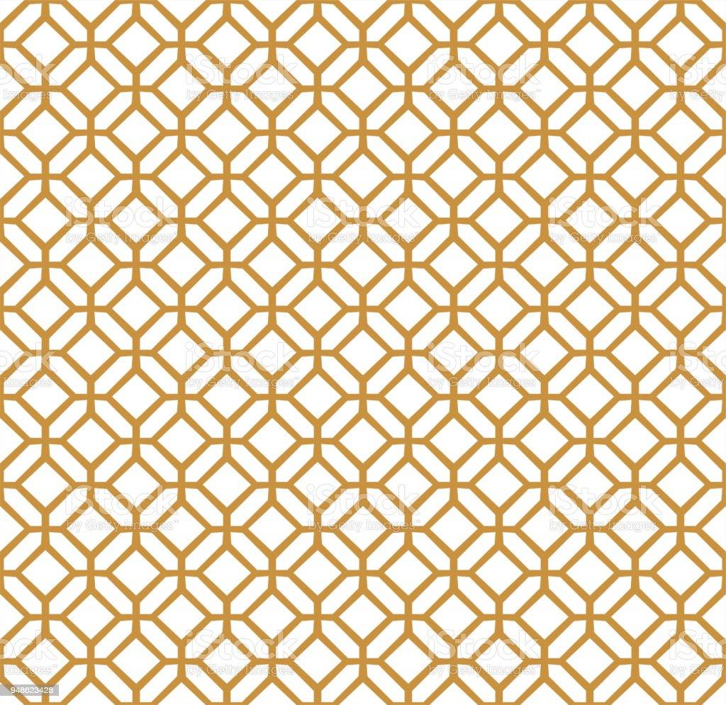 Ilustración de Mosaicos Geométricos Clásicos De Patrones Sin Fisuras ...