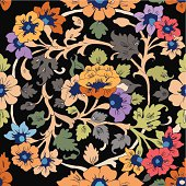 classic islamic floral pattern