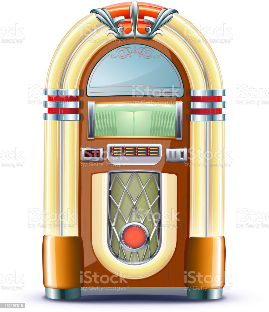 royalty free jukebox clip art vector images illustrations istock rh istockphoto com jukebox clipart free jukebox clip art free