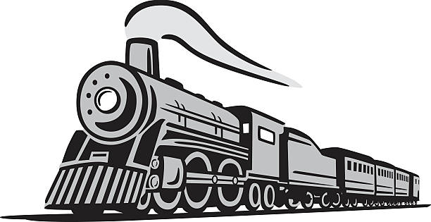 Best Steam Train Illustrations, Royalty-Free Vector ...