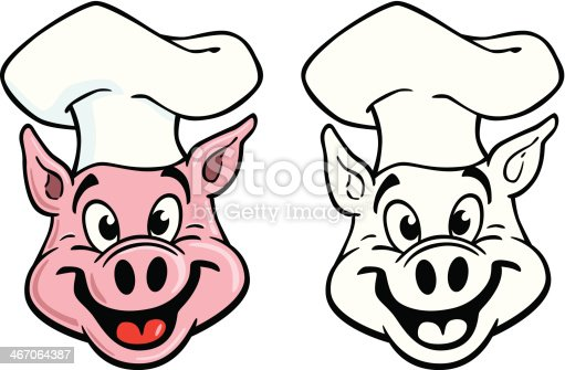 istock Classic Pig Cook 467064387