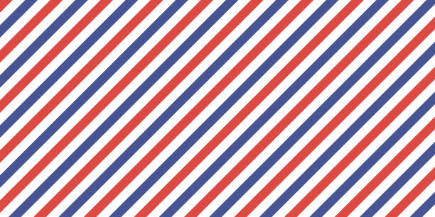 ilustraciones, imágenes clip art, dibujos animados e iconos de stock de color azul de fondo retro clásico rojo con franjas diagonales, rayas de color vector bandera, correo aéreo - cultura francesa