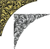 Vector - Designed by a hand engraver, this carefully drawn and highly detailed intertwining scrollwork can be used a number of ways. Easily change the scroll, border, and background colors or turn the borders on or off. Scale to any size without loss of quality with the enclosed EPS, AI, files. Also includes high resolution JPG.