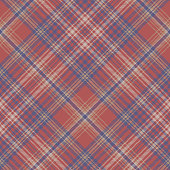 Classic seamless pattern check fabric texture. Vector illustration.