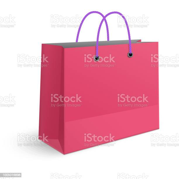 Classic shopping pink bag with violet grips isolated on white vector id1005016898?b=1&k=6&m=1005016898&s=612x612&h=vb3gdkkzzix1zx7hrkozi eyf fo1uegmcf9c8dhddg=