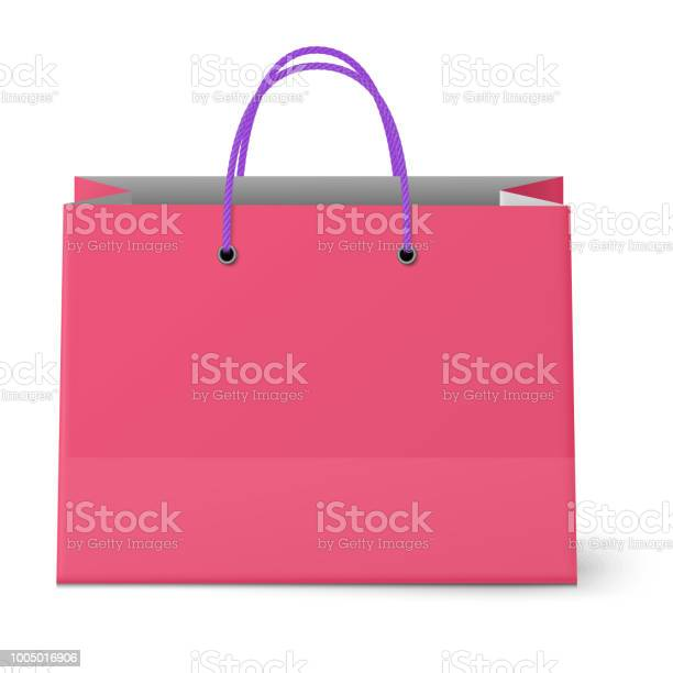 Classic shopping pink bag with violet grips isolated vector id1005016906?b=1&k=6&m=1005016906&s=612x612&h=8afapovmcgth fn7qkw9rpjj ikdc7cmyqpwosaqh0a=
