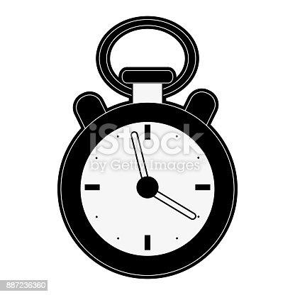 Classic sport chronometer icon vector illustration graphic design
