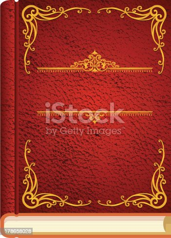 Classic story book cover stock vector art 178658028 istock for Classic story adobe