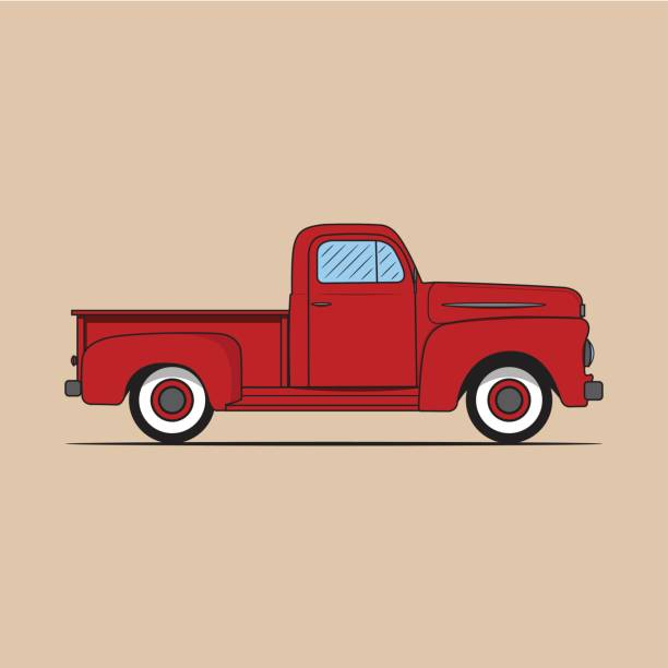 Best Ford Truck Illustrations, Royalty-Free Vector ...