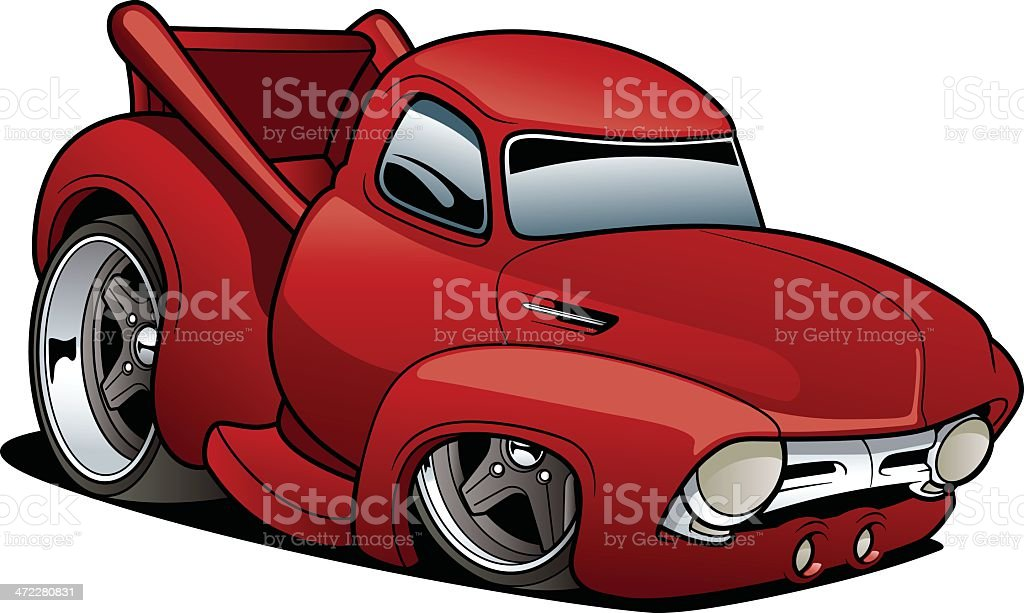 Classic Truck royalty-free classic truck stock vector art & more images of car