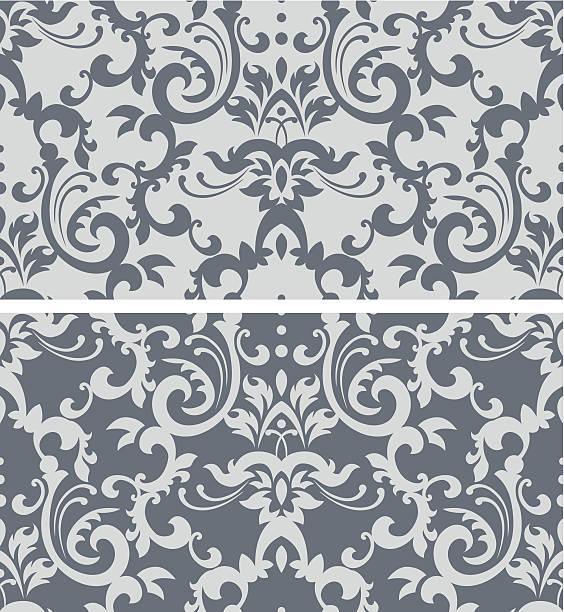 クラシックな壁紙 - ロココ調点のイラスト素材/クリップアート素材/マンガ素材/アイコン素材
