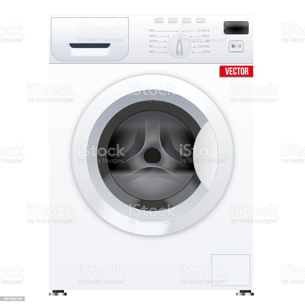Classic Washing machine royalty-free classic washing machine stock vector art & more images of appliance