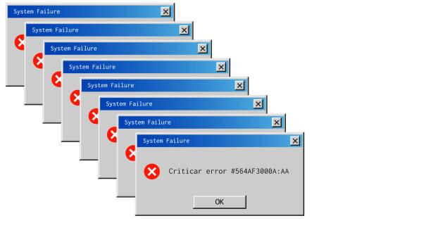 Classic window alert dialog box of system error. Classic window alert dialog box of system error error message stock illustrations