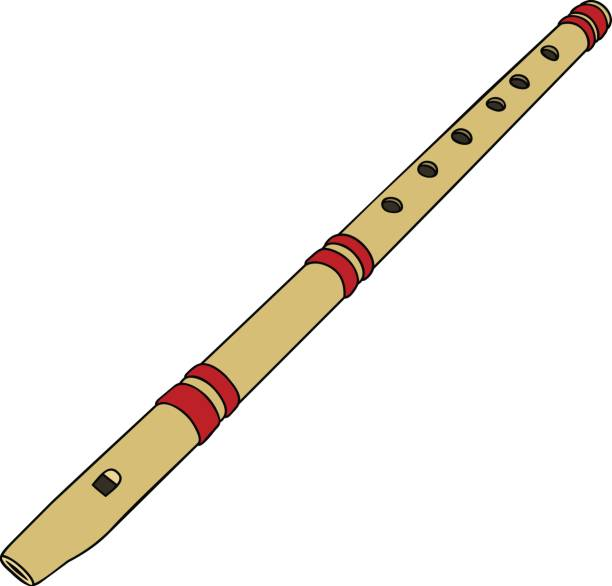 Top Bamboo Flute Clip Art, Vector Graphics and ...