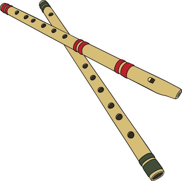 Bambus Querflote Vektorgrafiken Und Illustrationen Istock