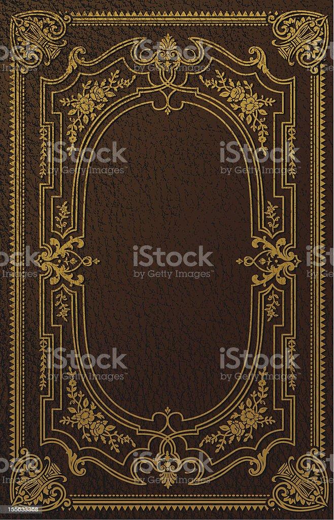 Portada de libro de diseño clásico - ilustración de arte vectorial