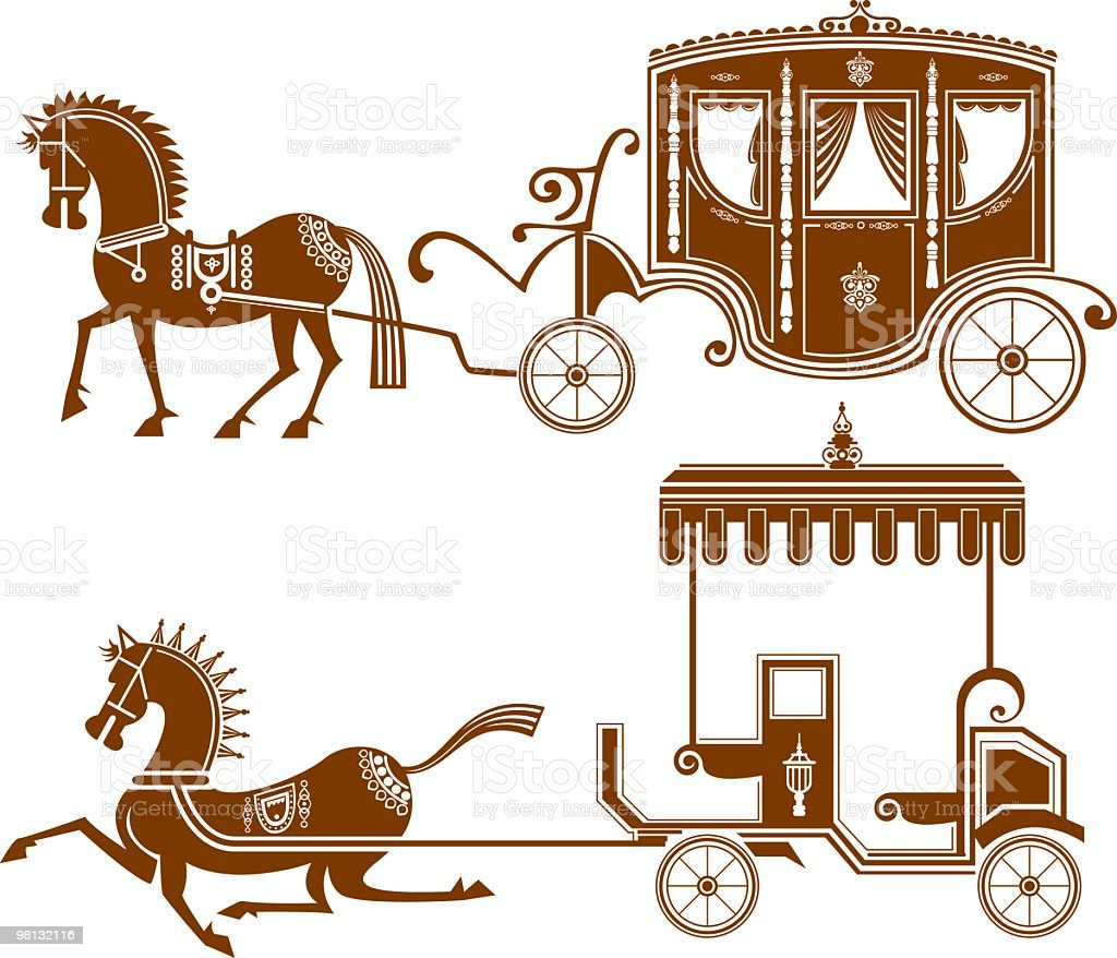 classical carriage royalty-free classical carriage stock vector art & more images of carriage