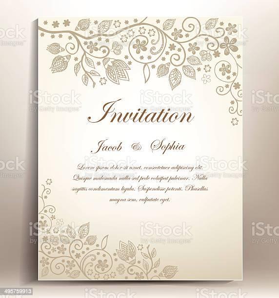 Classical floral hand draw wedding invitation vector id495759913?b=1&k=6&m=495759913&s=612x612&h=65hcoqfw1wh67jzj5nhhsbxarufnybcugevyszxvgwo=
