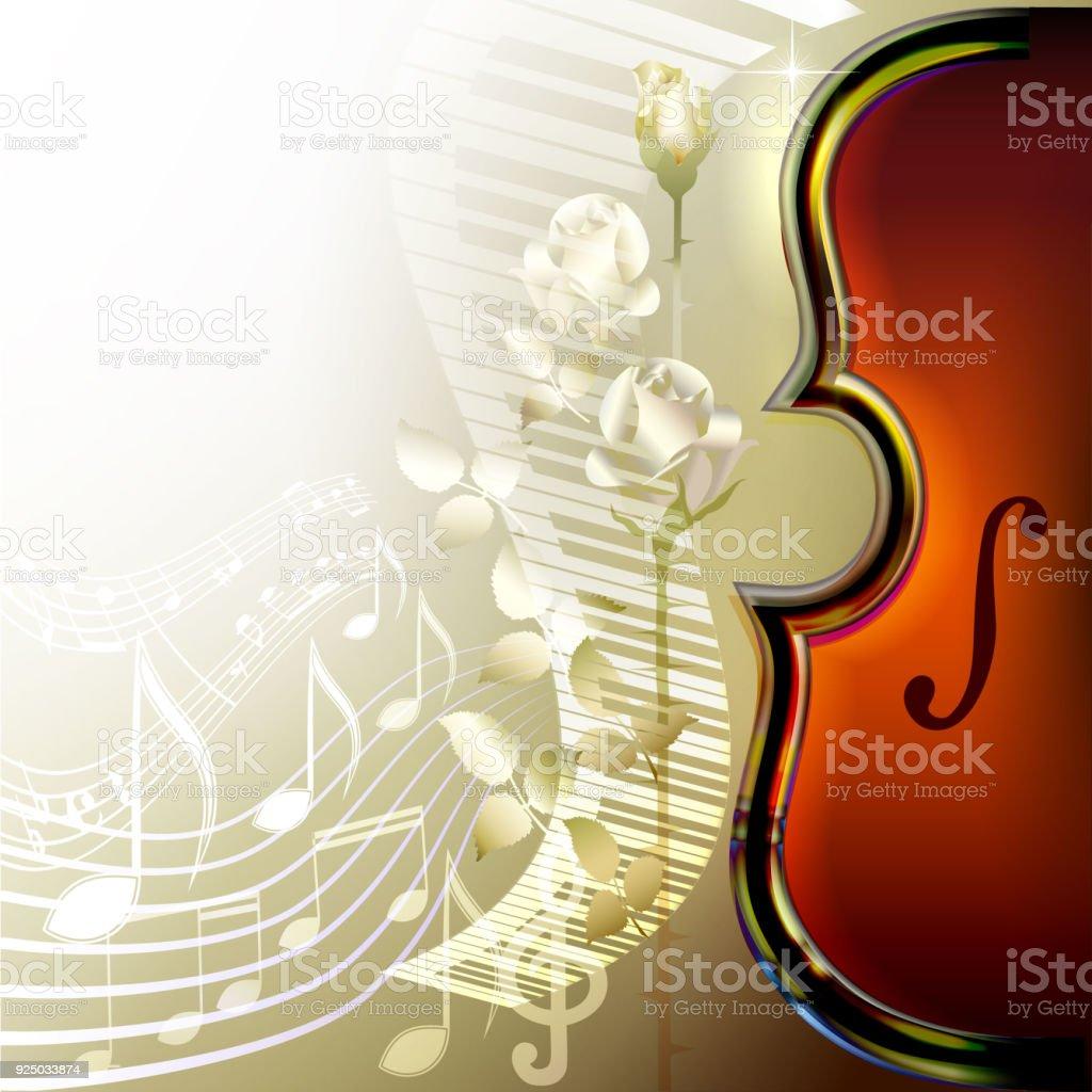 Klasik Müzik Arka Plan Stok Vektör Sanatı Almanyanin Daha Fazla