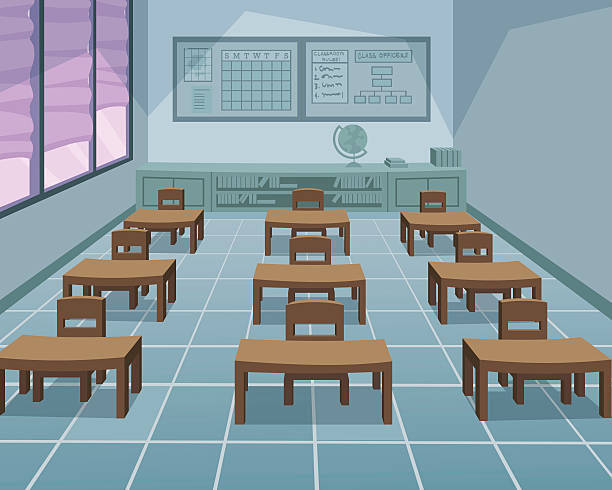 スクール形式 - 教室点のイラスト素材/クリップアート素材/マンガ素材/アイコン素材