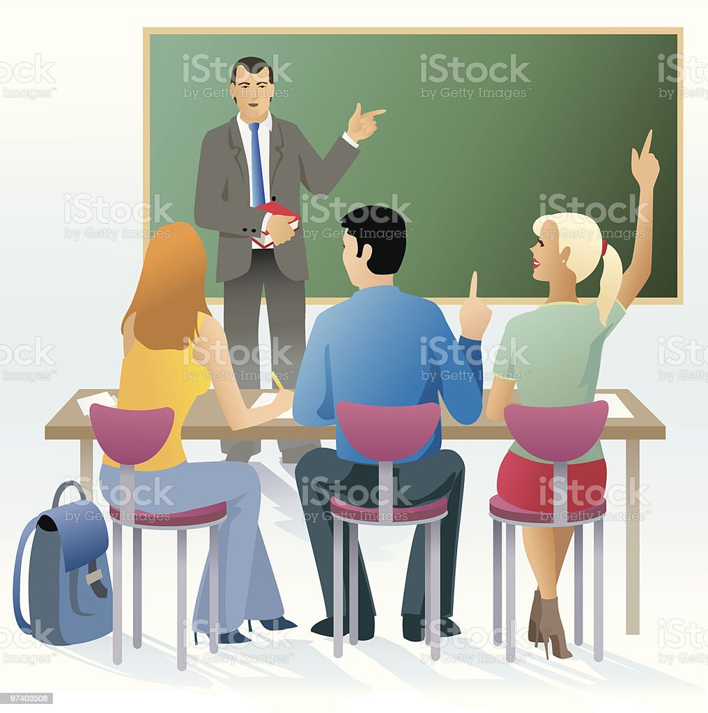 Classroom royalty-free classroom stock vector art & more images of adult