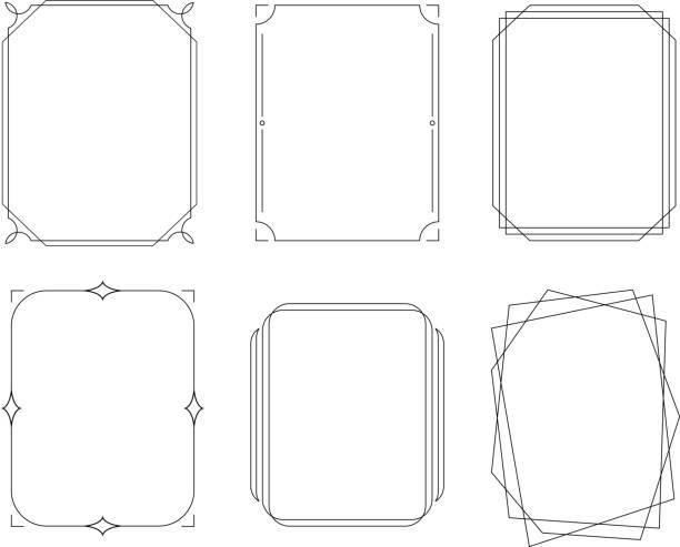優雅的邊框 - 有邊框的 幅插畫檔、美工圖案、卡通及圖標