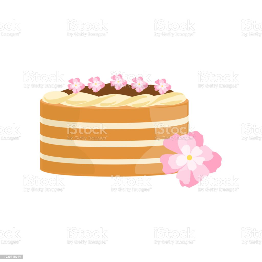 Classy cake with chocolate and flowers decorated big special classy cake with chocolate and flowers decorated big special occasion party dessert for wedding or birthday izmirmasajfo