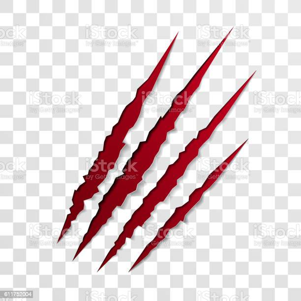 Claw scratch mark red bllod scrape scar of beast vector id611752004?b=1&k=6&m=611752004&s=612x612&h=n9t11tsxbvkvalm 6vx34pql4uuib5ouwanppbtdgkc=
