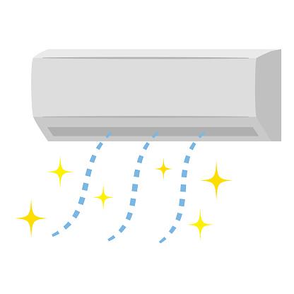 Clean air conditioner cooler