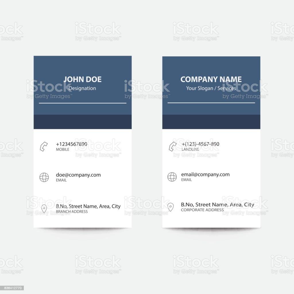 Flaches Design App Stil Blau Grau Gradient Business