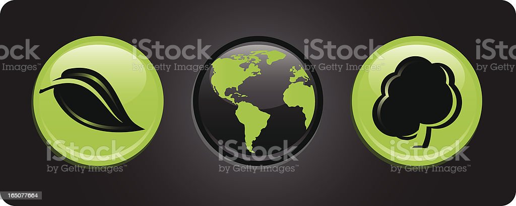Clean in Green royalty-free stock vector art