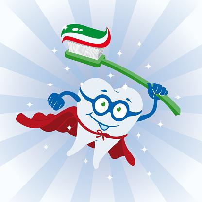 Clean Tooth Super Hero