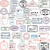 Clean Travel Stamps