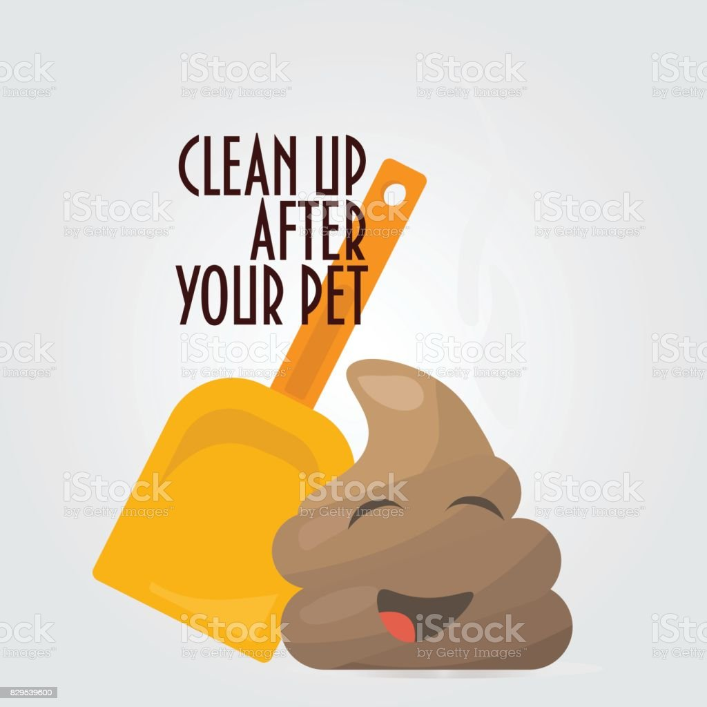 how to clean dog shit