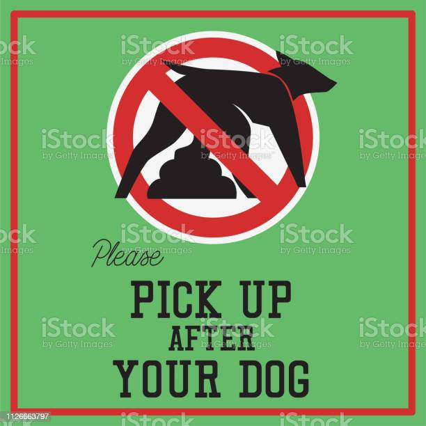 Clean up your dog waste warning sign vector illustration vector id1126663797?b=1&k=6&m=1126663797&s=612x612&h=dmvwhrkwjj0upncvtfryrcfpgdsono2g81ajsxjpf3o=