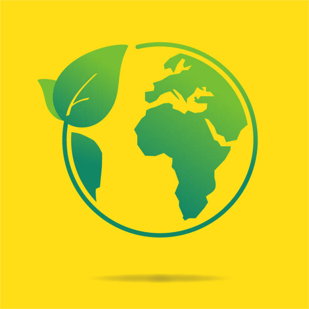 Clean World Icon Clean World Icon corporate responsibility stock illustrations