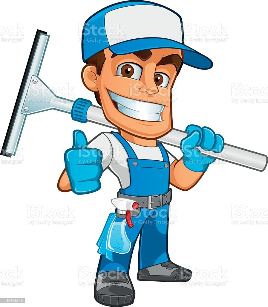 royalty free window cleaning clip art vector images