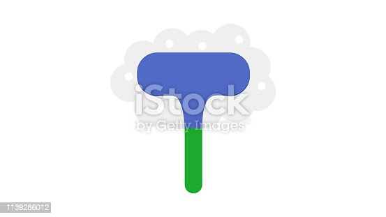 istock Cleaning Brush Icon 1139286012