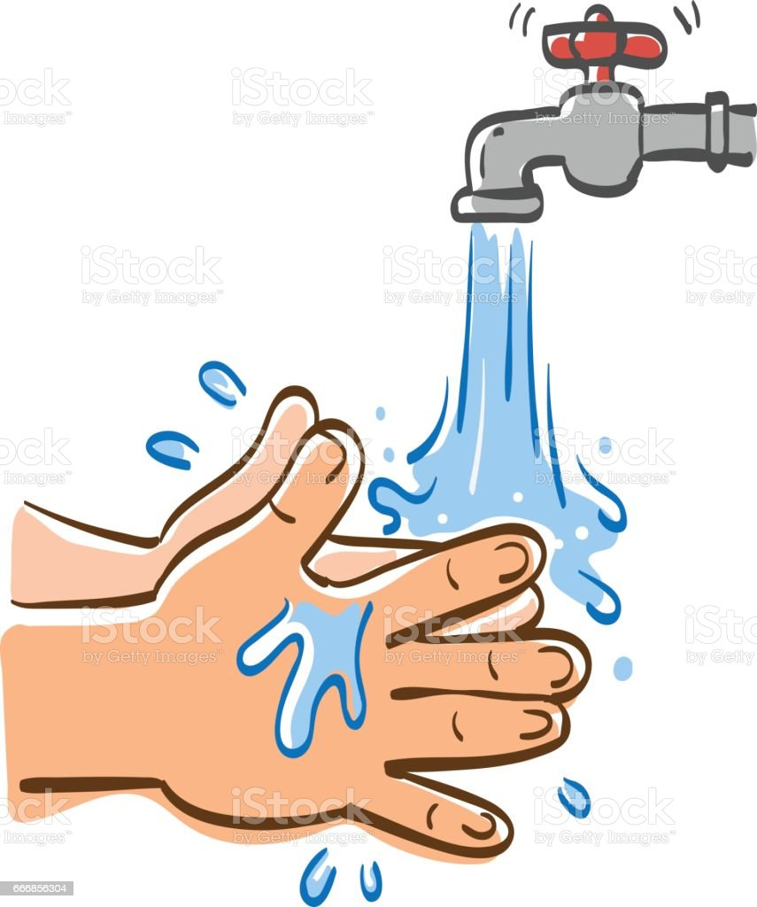 royalty free washing hands clip art vector images illustrations rh istockphoto com washing hands clipart washing hands clip art free