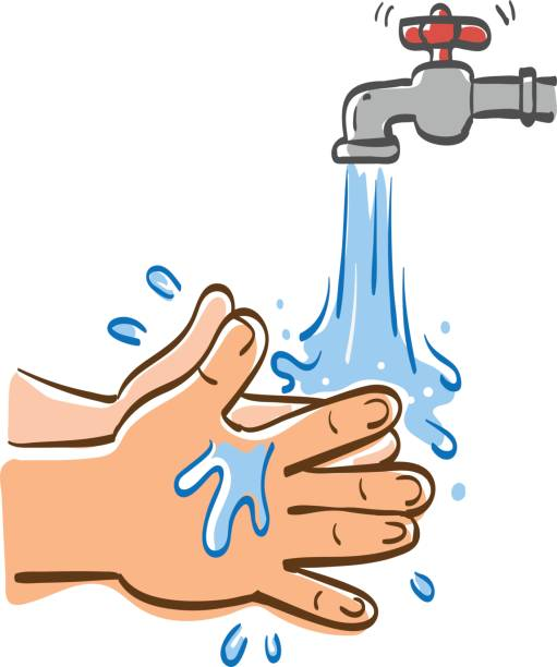 Best Washing Hands Illustrations, Royalty-Free Vector ...