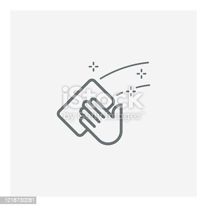 Cleaning icon,vector illustration. EPS 10.