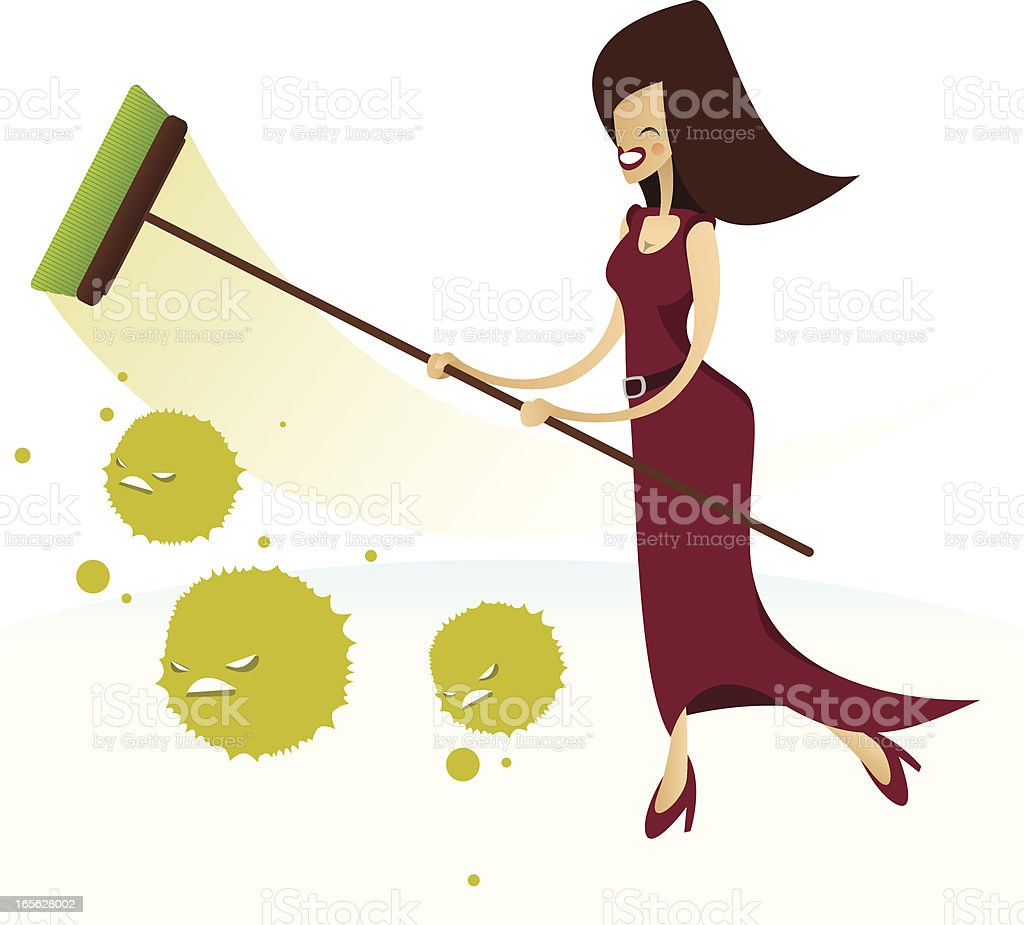 Cleaning lady royalty-free cleaning lady stock vector art & more images of adult