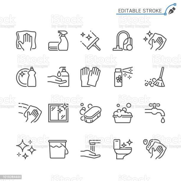 Cleaning line icons editable stroke pixel perfect vector id1015284444?b=1&k=6&m=1015284444&s=612x612&h=t8cwruvmoeai tmjtiexs1 gfqaeg1utbfzudtt pfw=