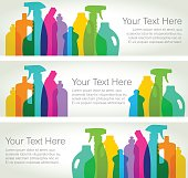 Cleaning Products - Horizontal Banners