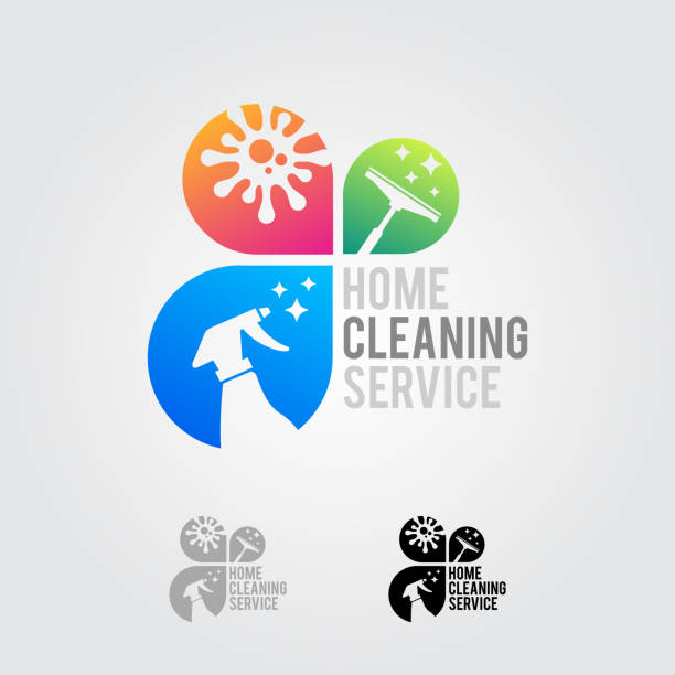 Cleaning Logo Vector Art Graphics Freevector Com